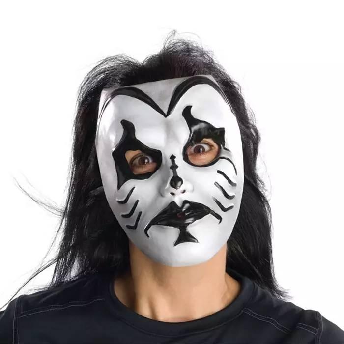diy面具手绘图儿童