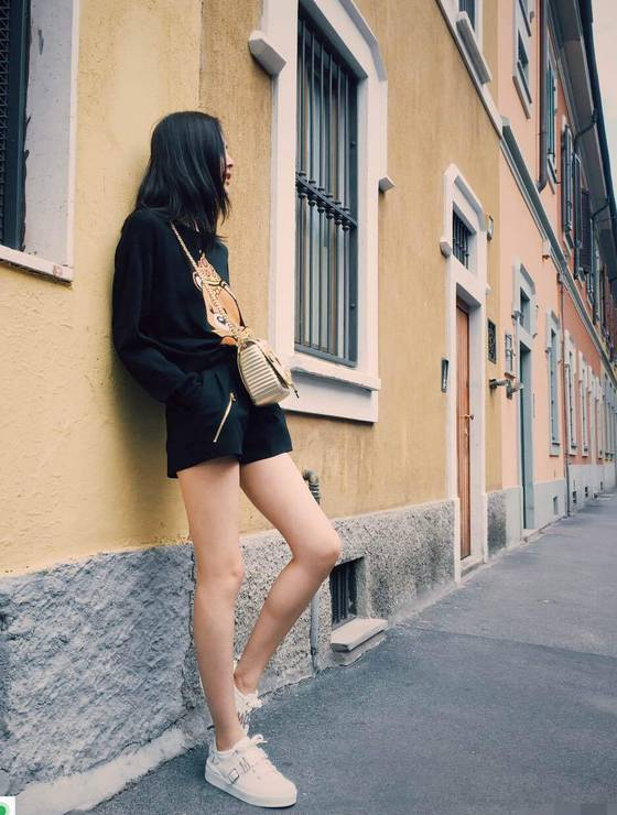 刘雯获得 最佳街拍 style 你该学会她街拍哪几招图片