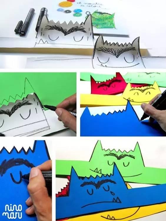 【开团】刷爆世界朋友圈的手工立体绘本《我的情绪小怪兽》来啦!