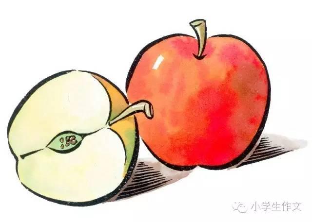 描写苹果的好词好句好段