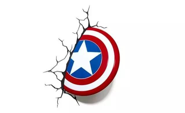 8cm) 美国队长唯一的武器就是一个画着五角星的盾牌,由被称作图片