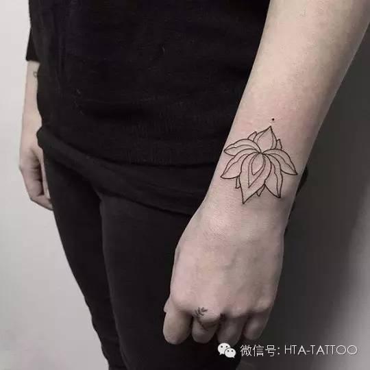 适合清纯小女生的小纹身