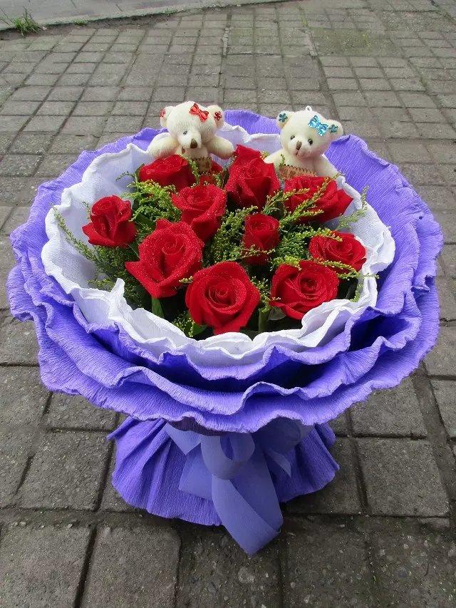 11朵玫瑰为什么代表一心一意