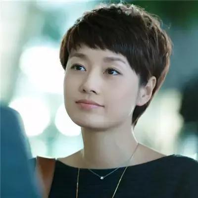 马伊琍百变短发发型图片图片