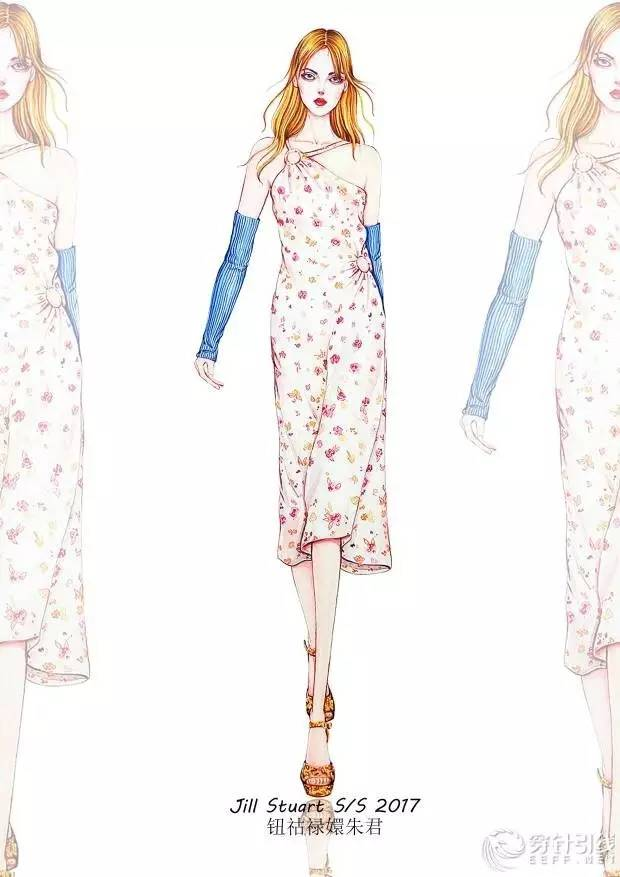 近日,水彩手绘服装               节请看 新浪微博@钮祜禄嬛朱