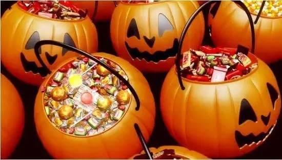 捣蛋万圣节,糖果欢乐送