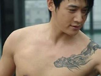 从陆毅的纹身就能看出他多爱鲍蕾,扒一扒明星纹身