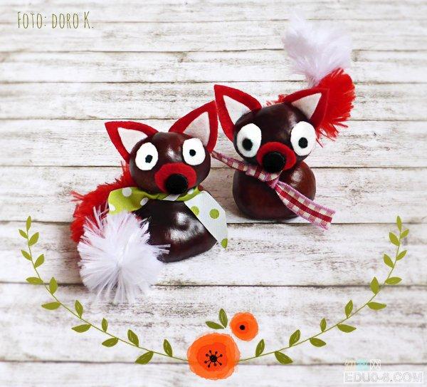 叶子纪念册    幼儿园手工创意:叶子做的小动物