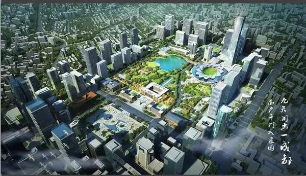 成都回归中心城区 5大资源看清天府广场受捧真相