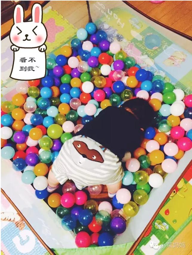 育儿知:玩具 | 大钱の101种海洋球玩法!