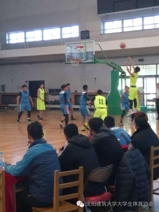 10月29日我校篮球队CUBA阳光组第二轮战况