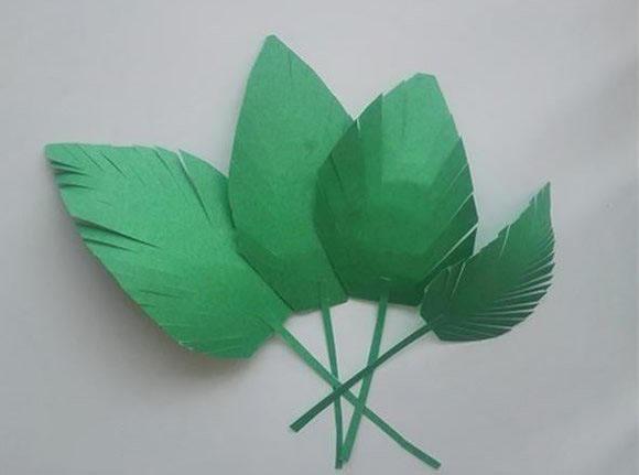 而又美丽的纸花折法图解图片