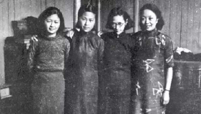 """民国世家,除了站在权力顶端的""""宋氏三姐妹"""",还有文化界声名卓著的""""图片"""