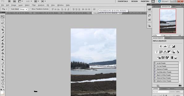 教你用Photoshop拼接全景图教程