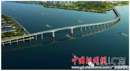 名滨海新区博贺湾大桥开建 总投资约4亿元