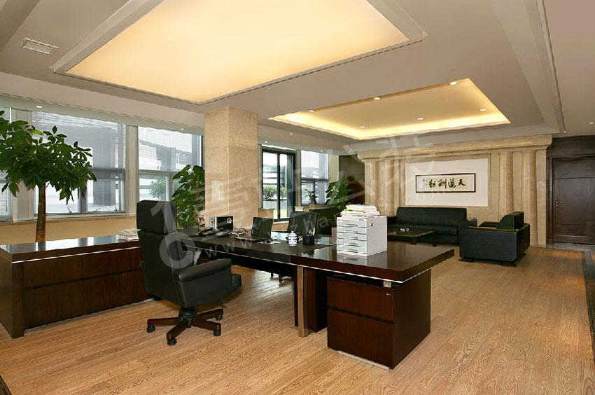 老总办公室背景设计,超级酷!图片