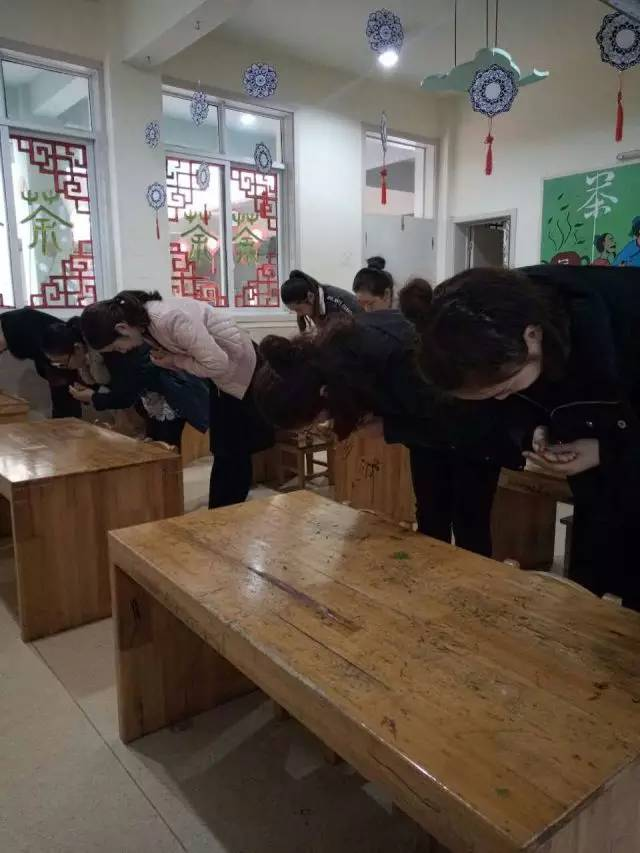 格林星宇幼儿园-教师国学礼仪培训