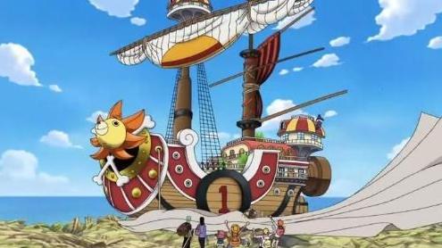 万里阳光号-威风无比 看看海贼王中的这几艘霸气的海贼船