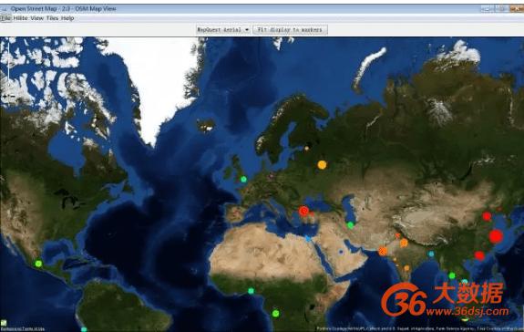 挖掘软件 | KNIME挖掘软件进行地图可视化呈现