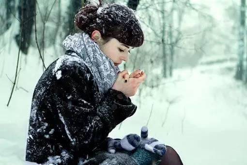 冬天戴围巾,可预防疾病 - 空谷幽兰 - 空谷幽兰憩居