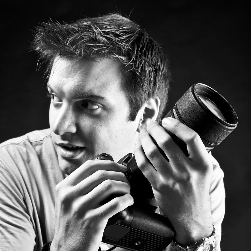 拿相机的男人最帅图片