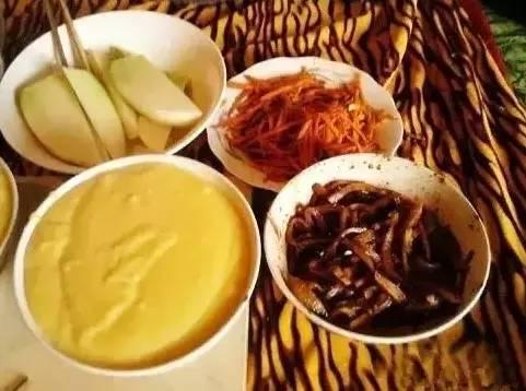 家乡美食-清水玉米面馓饭
