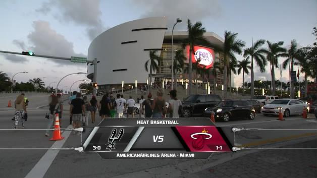 10月31日 NBA常规赛 热火vs马刺 全场比赛录像下载图片