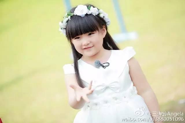 """王诗龄就读国际学校,被赞""""生的公主图片"""