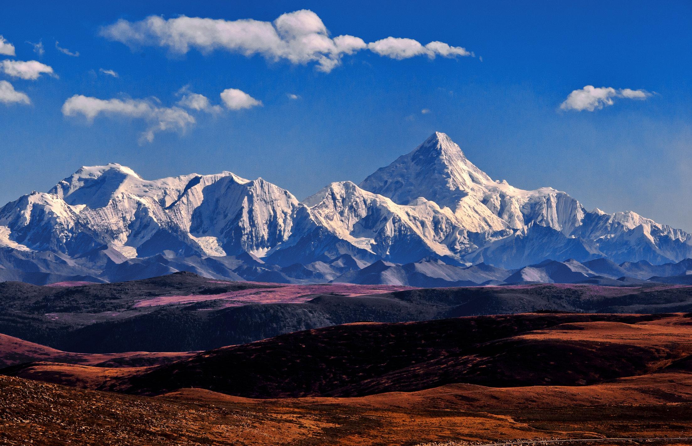 川西高原最美秋色 甘孜处处是美景 图