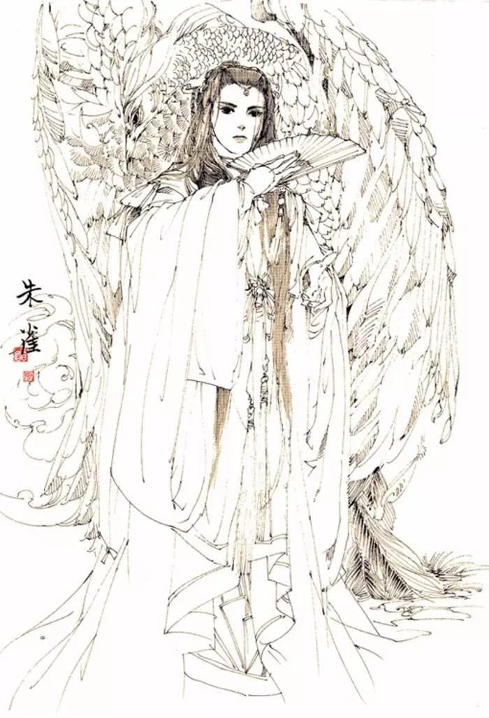 动漫少女手绘,线稿古风少女,女孩动漫线稿,美女线稿欣赏,温柔少女