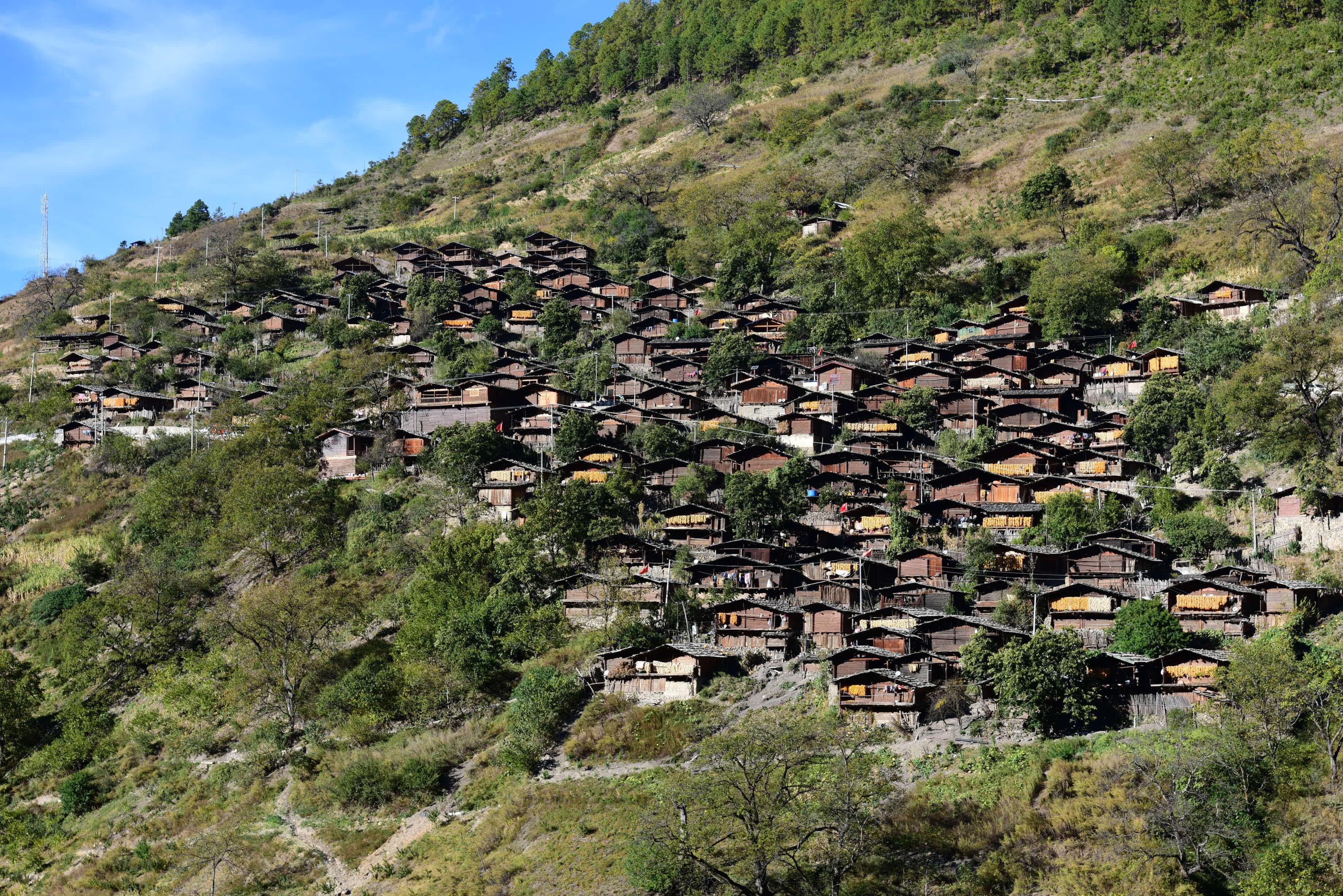 同乐村:藏在深山里的傈僳族古村落