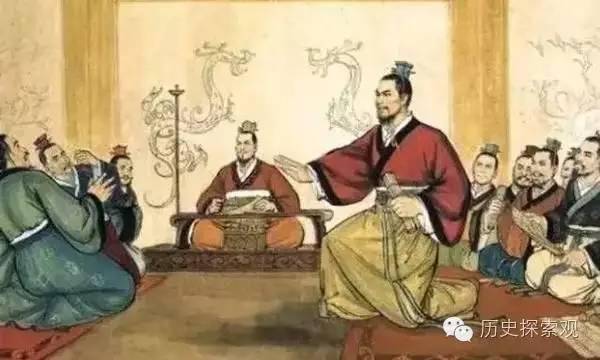 秦统一中国思想基础:三合一的韩非子与法家的