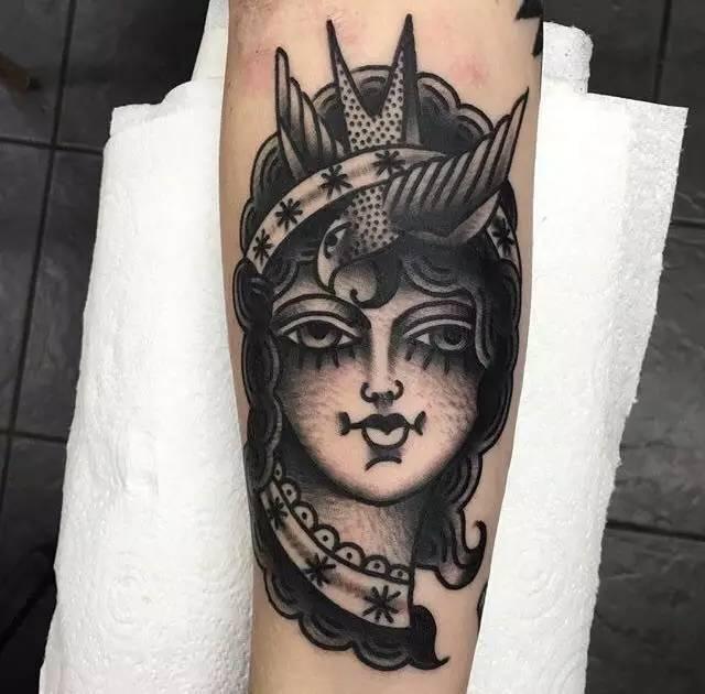 纹身素材 | teide 欧美老传统老风格 old school纹身