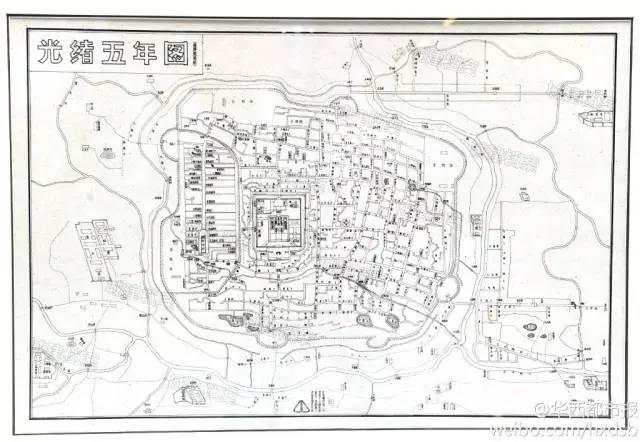 清朝时期的成都地图