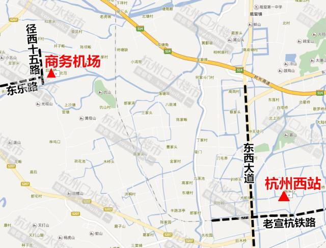 杭州要建新机场了!就在城西!图片