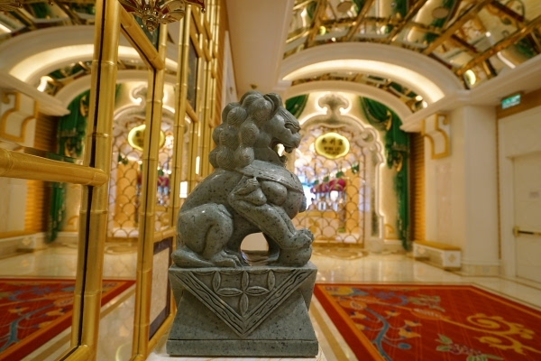 永利皇宫一间堪称艺术品的酒店
