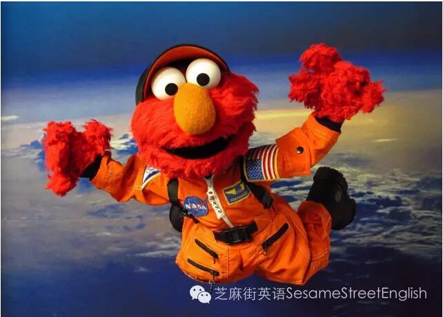 芝麻街带孩子迈出太空探索第一步!图片