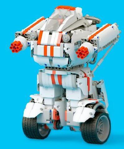米兔积木机器人图纸