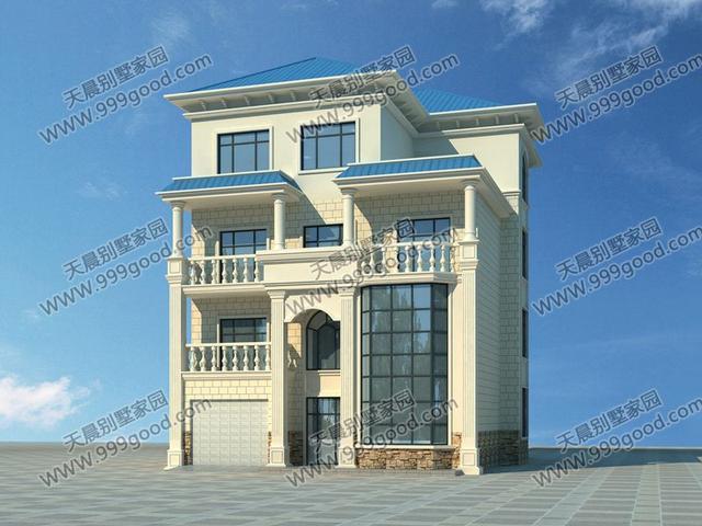 整个别墅结构形式采用的砖混结构,更是降低 了这套别墅的主体造价,是