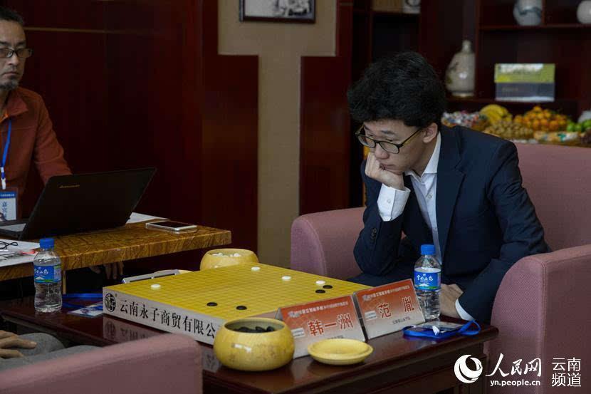 围甲联赛第17轮 柯洁率保山永子击败中信北京