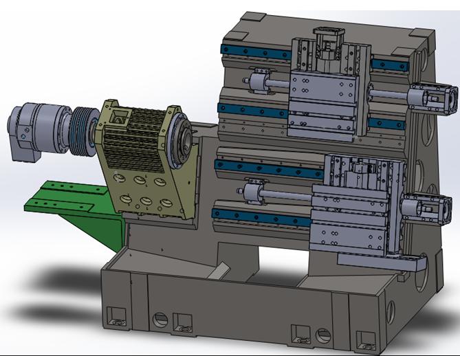 数控车床内部结构美图(转至 机械公社)