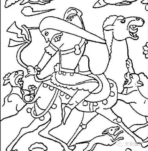 虞弘墓人兽搏斗图像及其文化属性