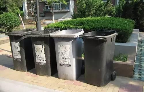 国外户外垃圾桶