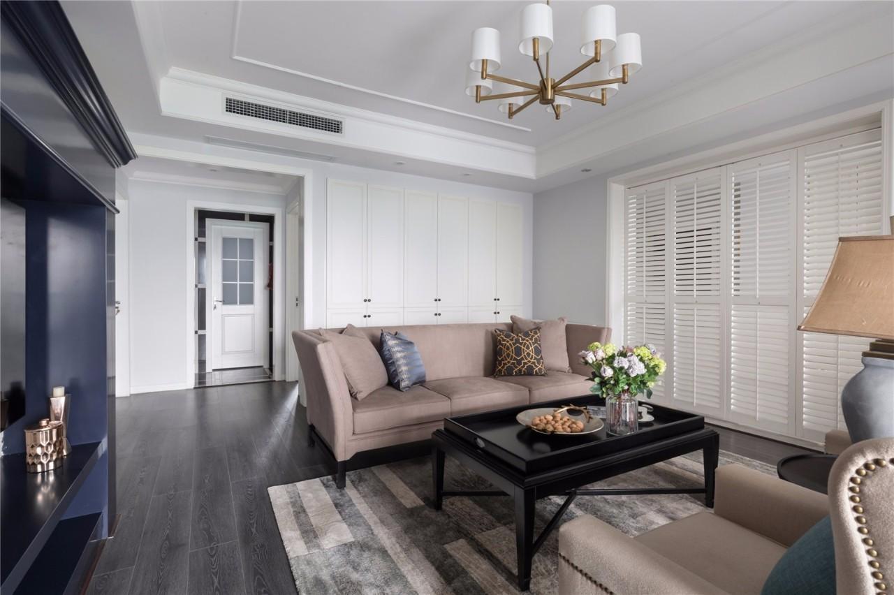 性冷淡风格案例——知性优雅的品质住宅图片