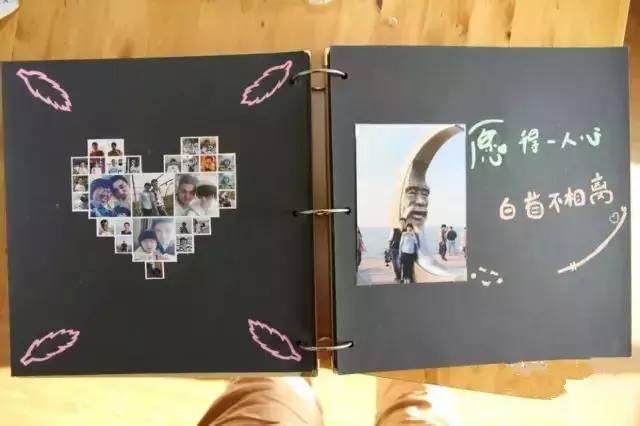 diy相册,一个关于自己的故事图片