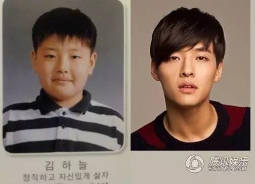 韩国男神肥瘦对比照太励志!第五位最萌
