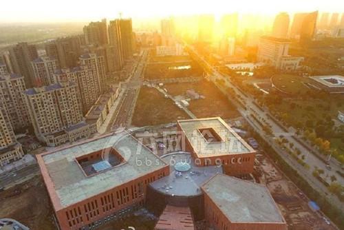 六安市图书馆主体工程已竣工 预计2017年投入使用