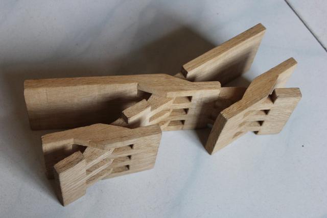 四角八叉板凳制作计算