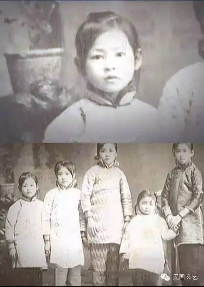 童年林徽因 图片
