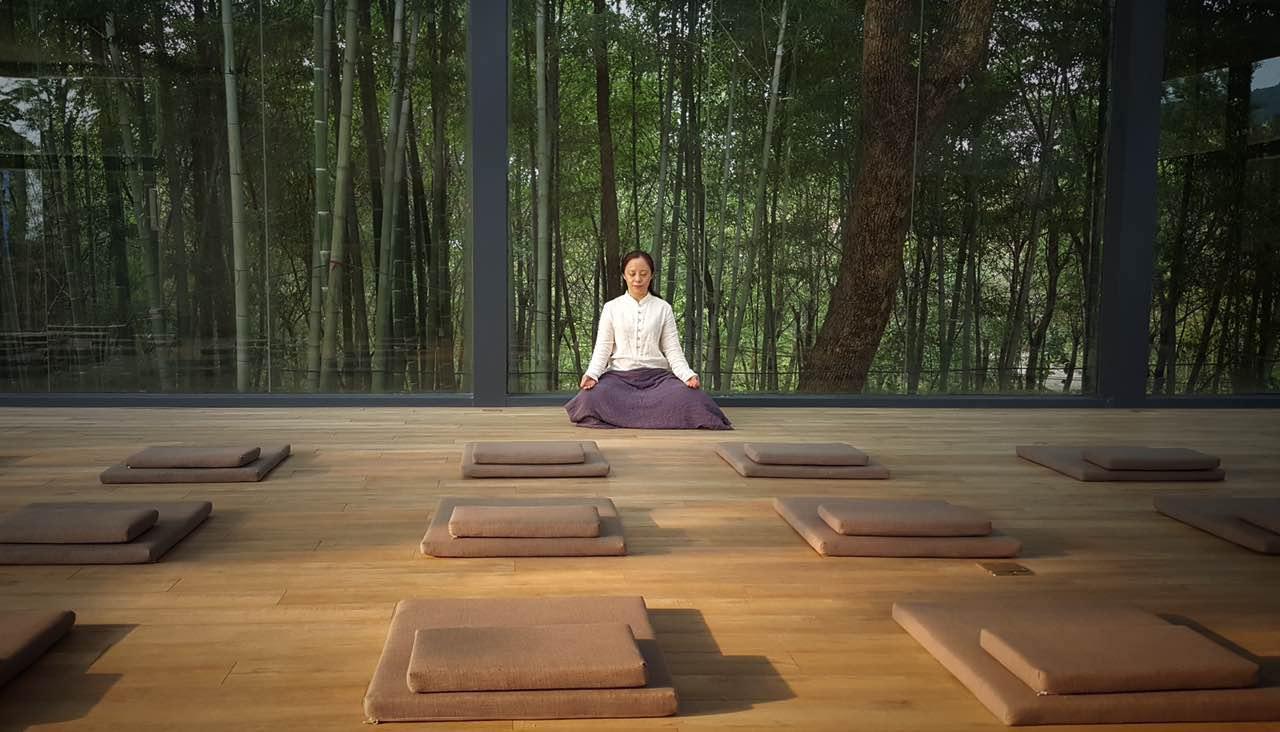 瑜伽静心之旅图片